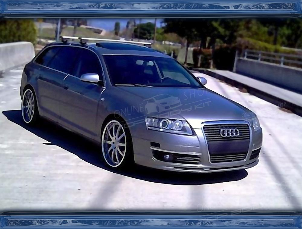 audi a6 c6 front add on estate