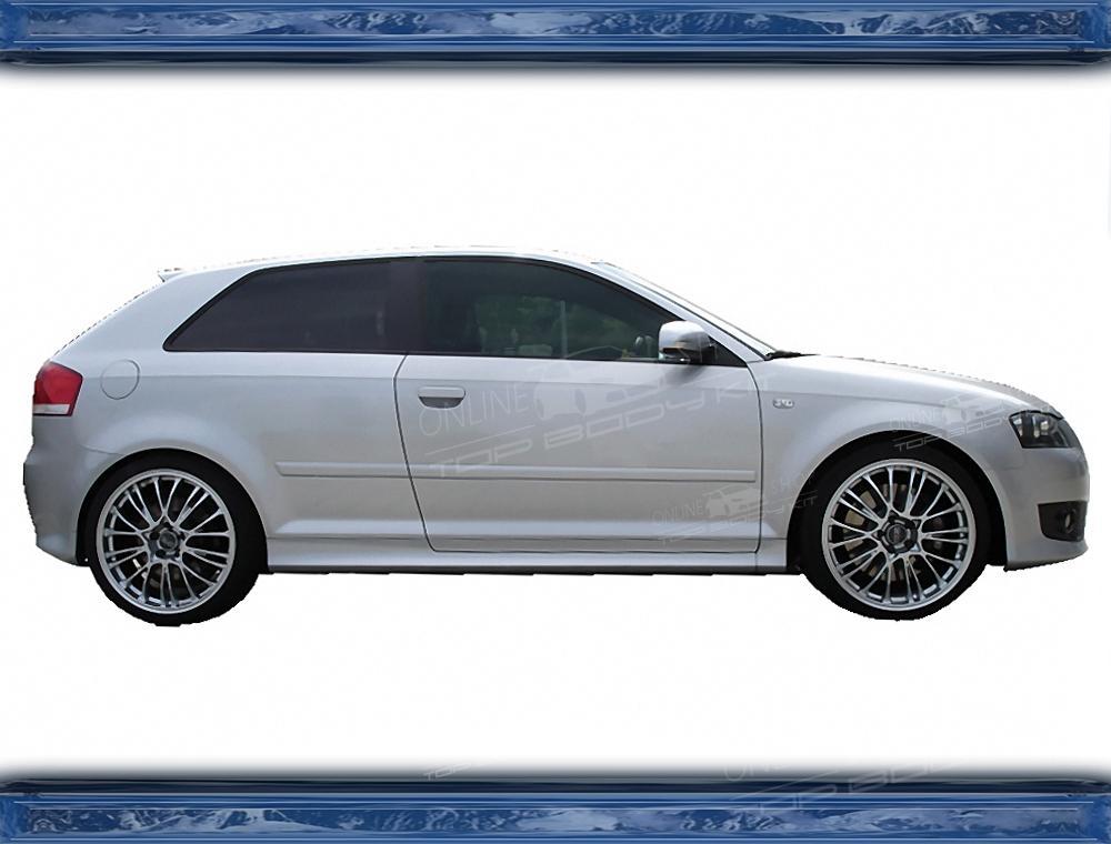 Audi A3 8p S3 Side Skirts
