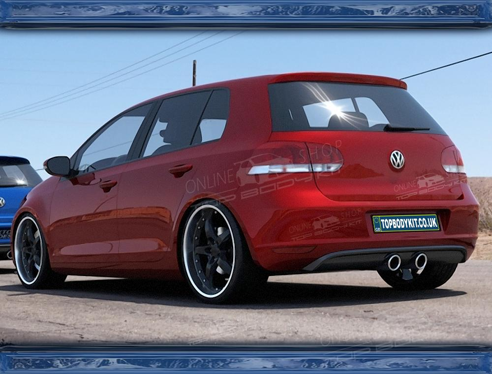 VW Golf Mk6 Rear Add On R32 look