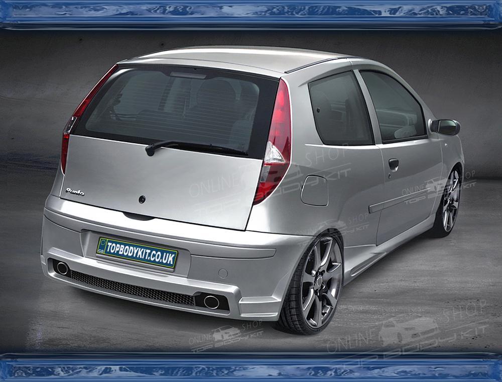 Fiat Punto Mk2 Rear Bumper 3d