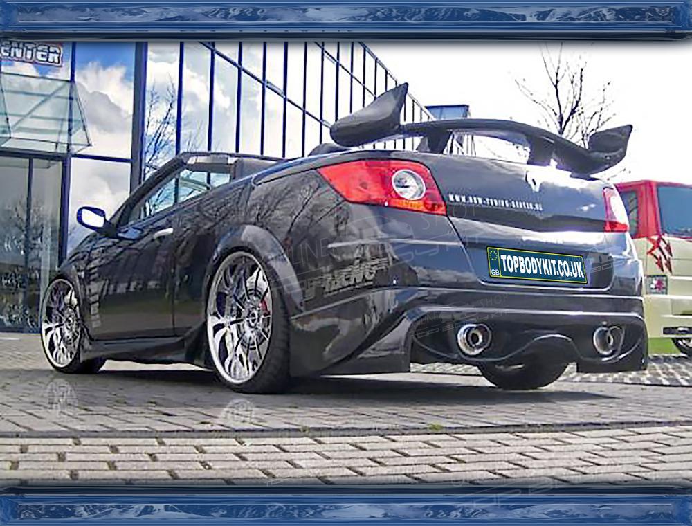 Renault Megane MK2 Cabrio Rear Bumper