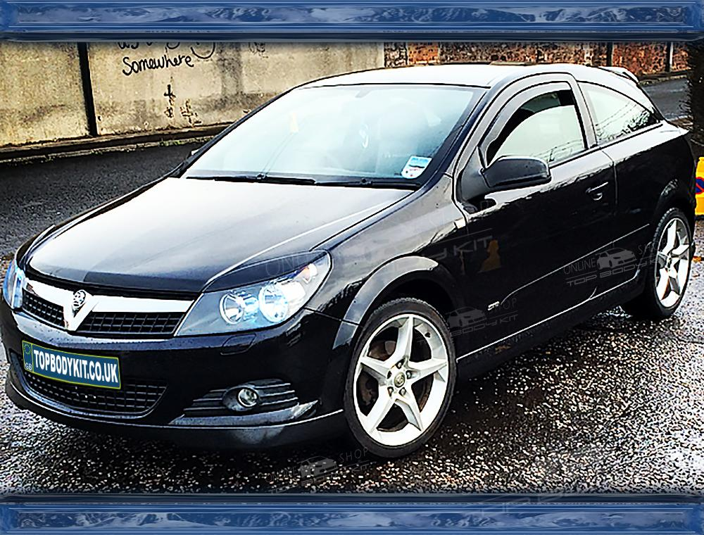 vauxhall astra h mk5 eyebrows