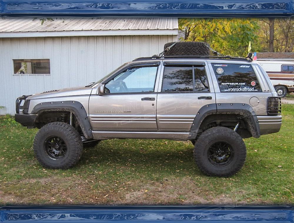 Jeep Grand Cherokee (ZJ) Wheel Arch Extension