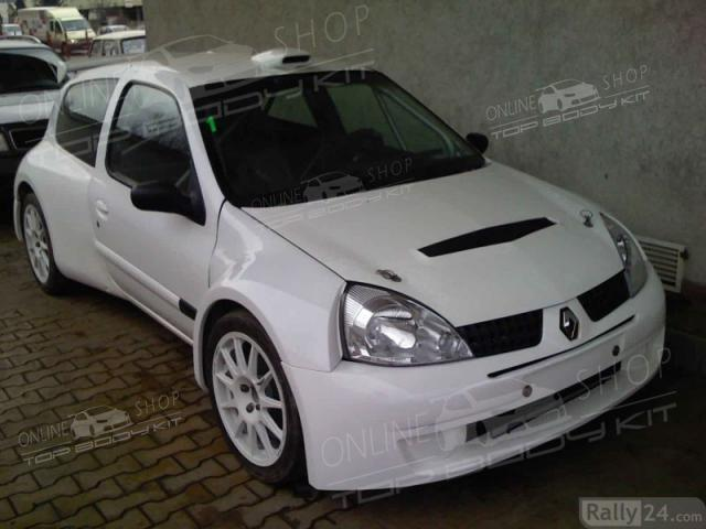 Renault Clio MK2 S1600 Wide Body Kit