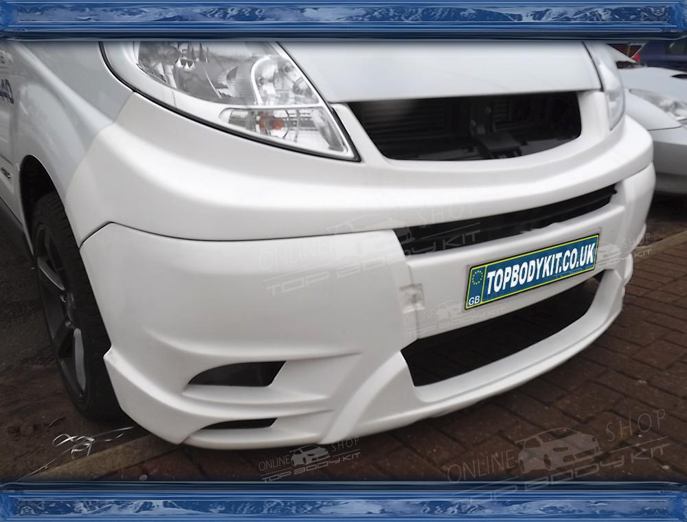 Renault Trafic Front Bumper With Grill Panel