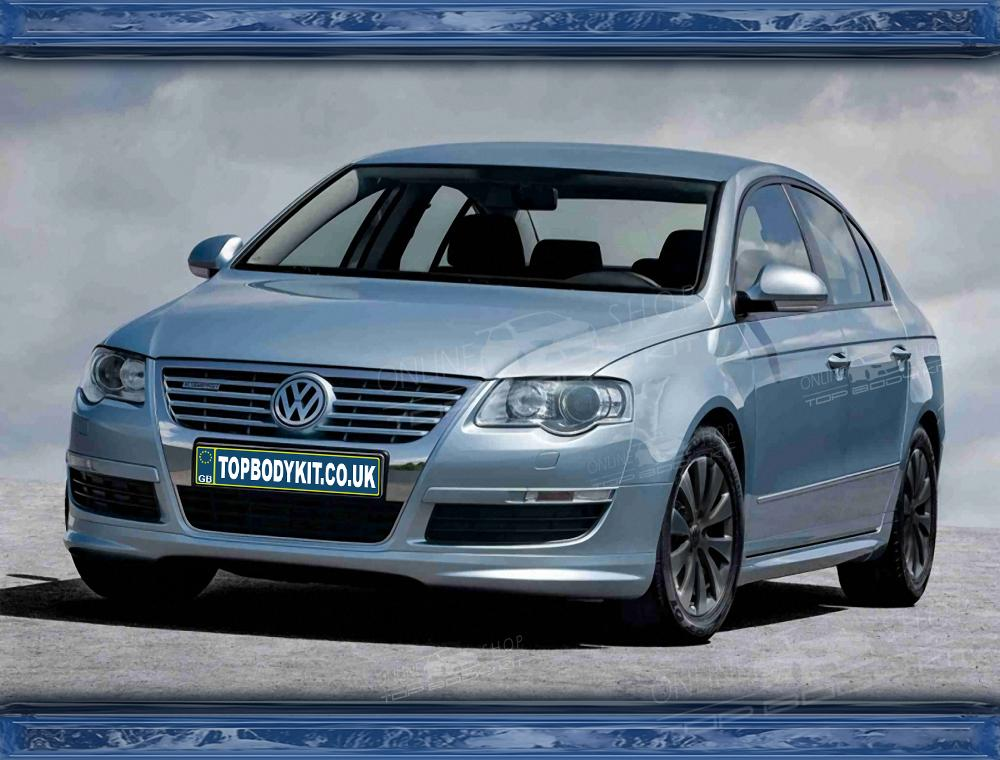 Vw Passat B6 Front Add On R Line