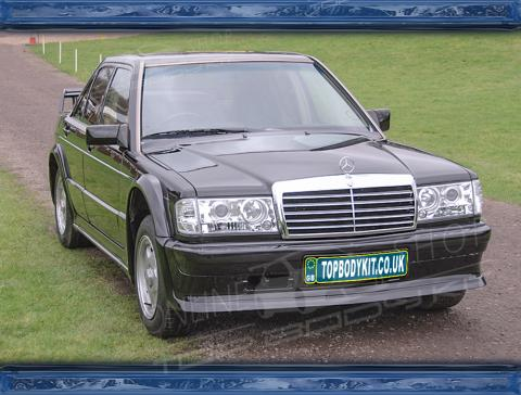 Mercedes 190E 2 3-16V 2 5-16V W201 Evo I Full Wide Body Kit