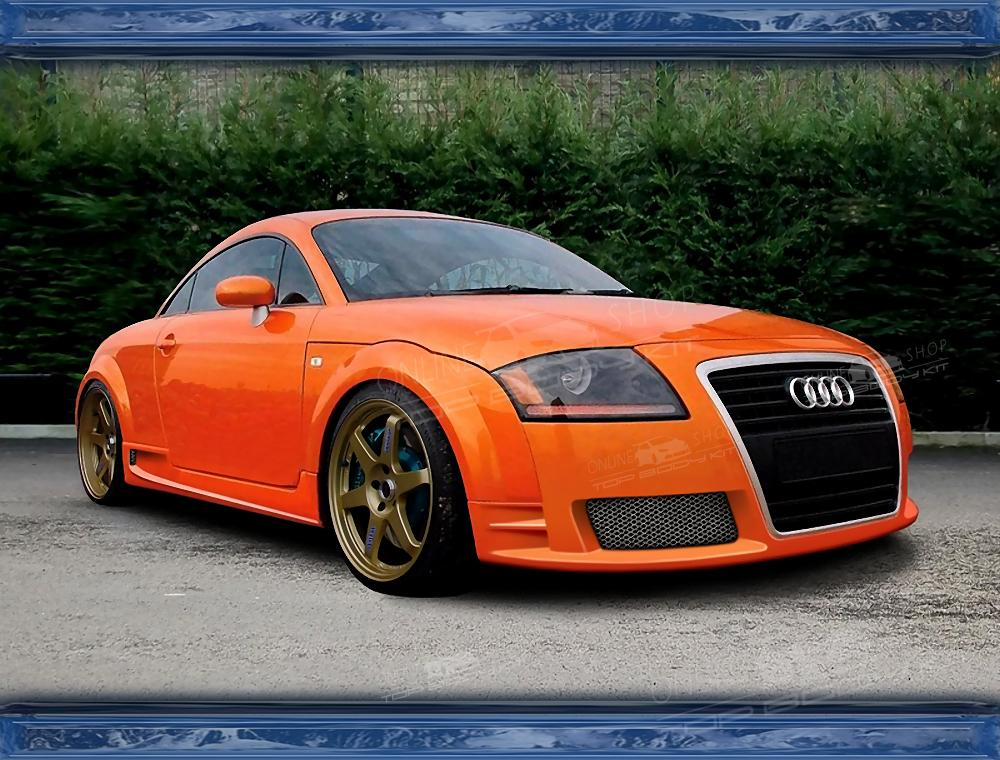 Audi Tt Front Bumper New Look With Grill